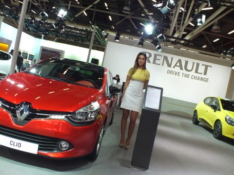 Stand Renault 2 - Motor Show 2012