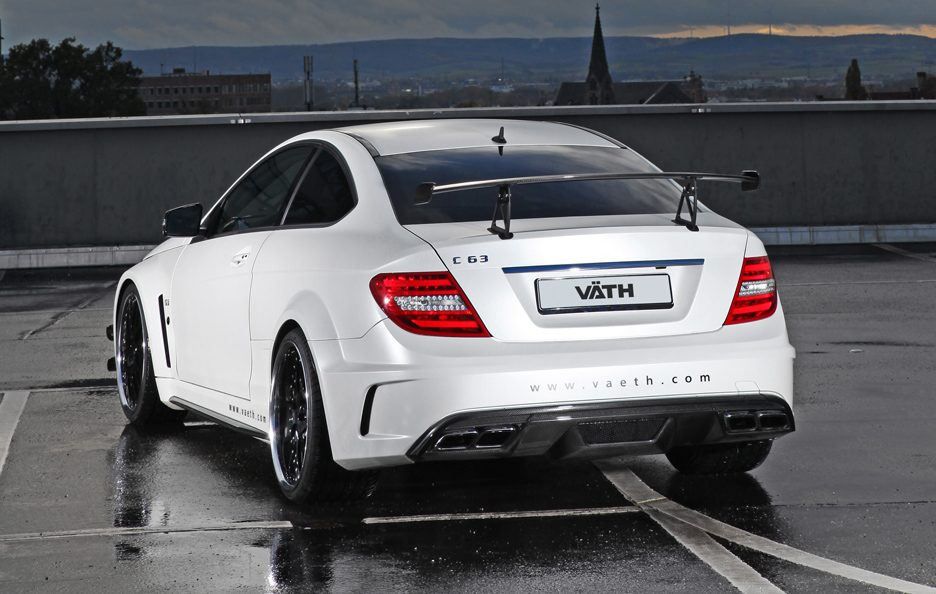 VÄTH V 63 Coupe Supercharged Black Series - Posteriore