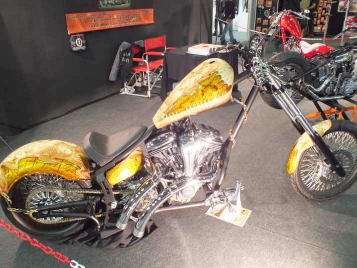 Le moto custom al Motor Bike Expo