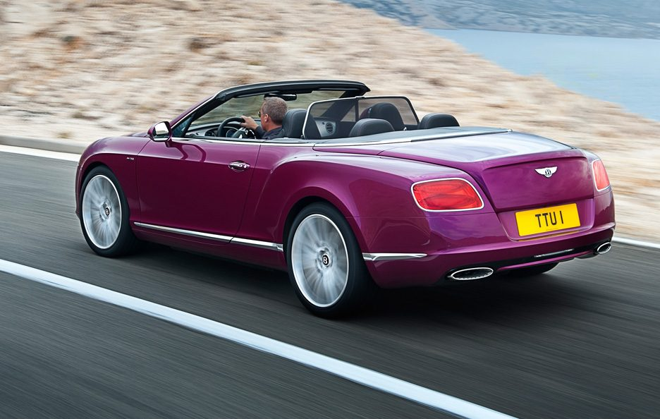 Bentley Continental GTC Speed - Il retrotreno