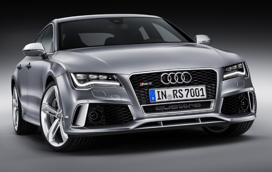 Audi RS7 SPortback - Frontale