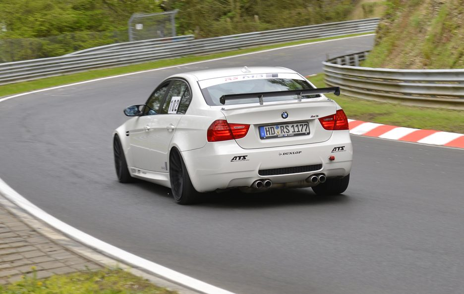 BMW M3 RS-Racingteam - Posteriore in motion