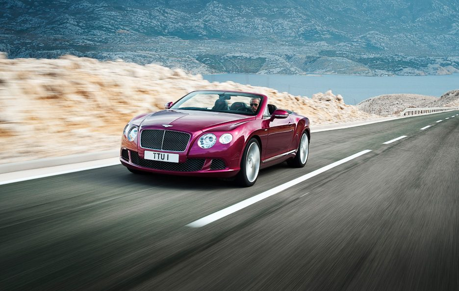 Bentley Continental GTC Speed - Frontale