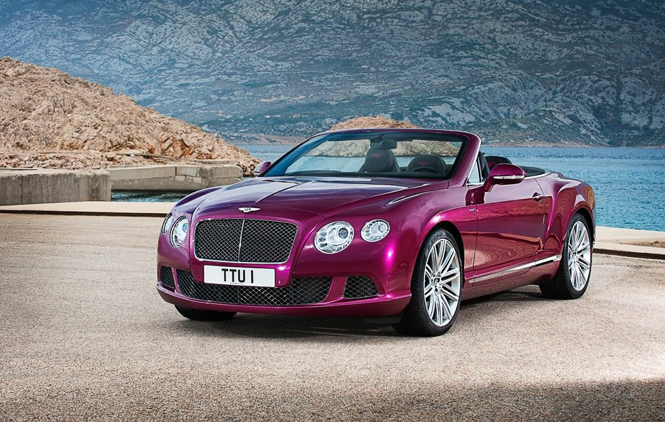 Bentley Continental GTC Speed - Linee