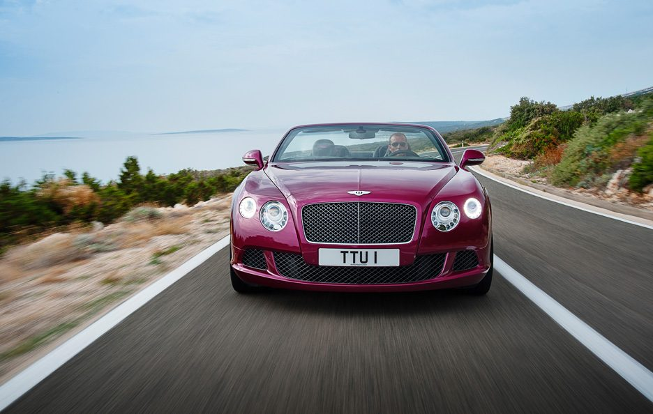 Bentley Continental GTC Speed - Muso