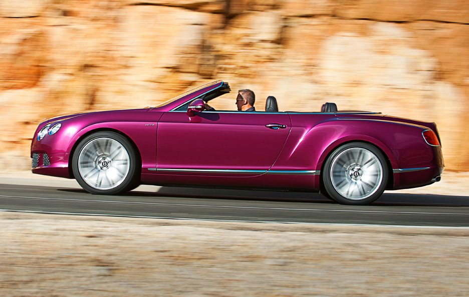 Bentley Continental GTC Speed - Profilo