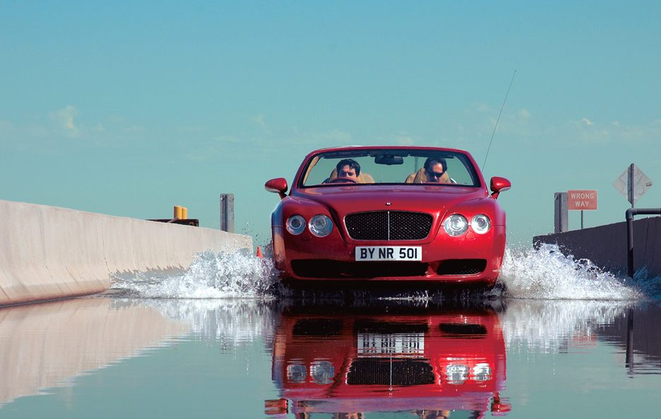 Bentley Continental GTC frontale