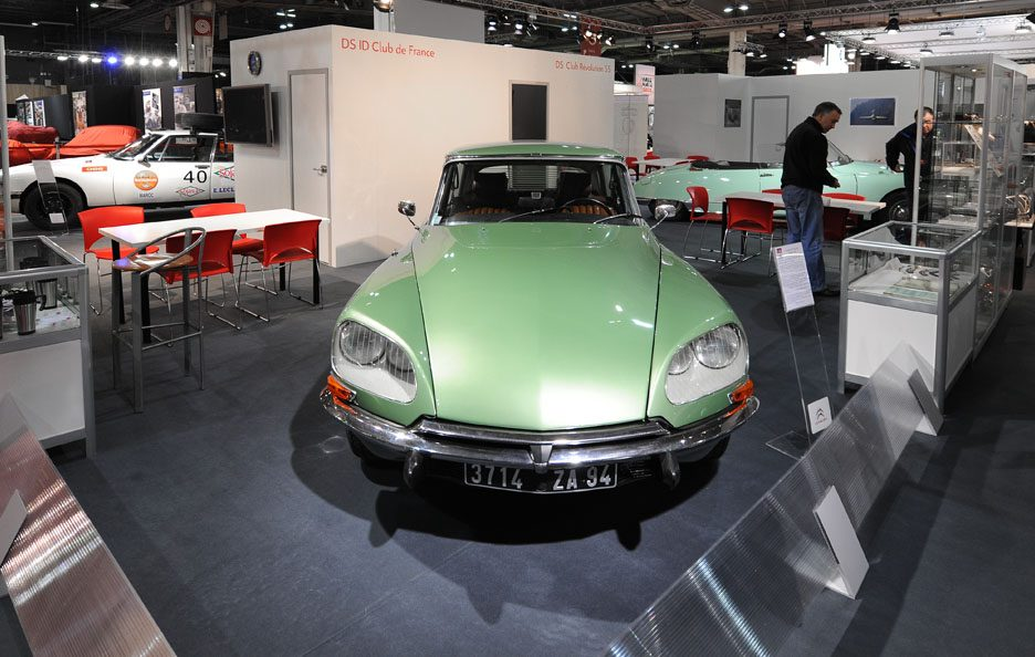 Citroën DS restyling frontale