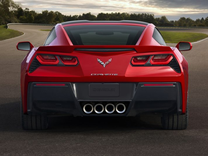 Corvette C7 Stingray - Posteriore
