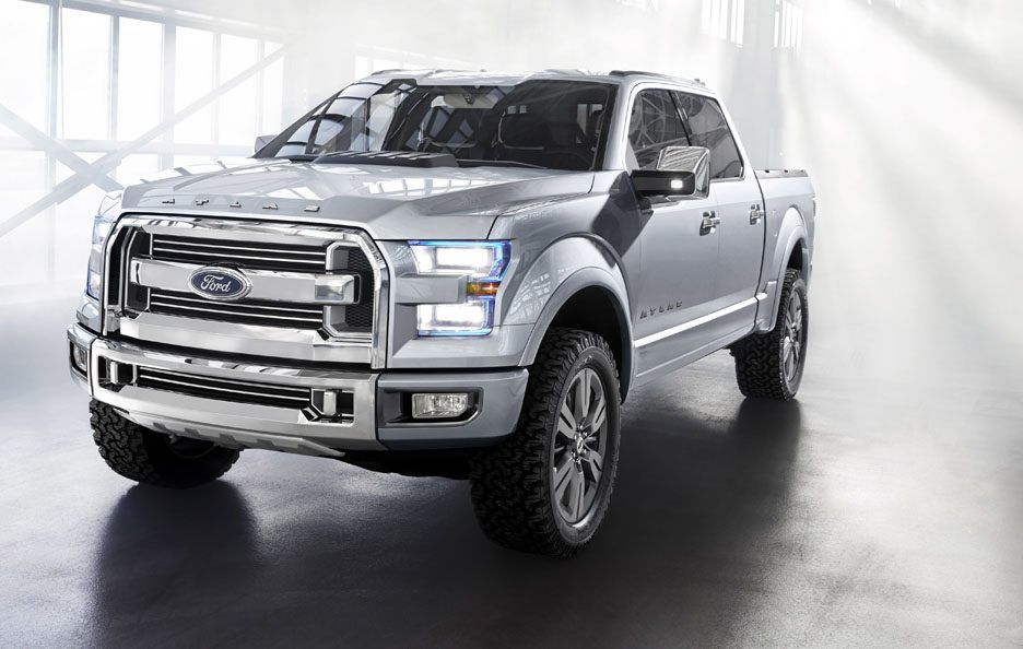 Ford Atlas Concept - Frontale