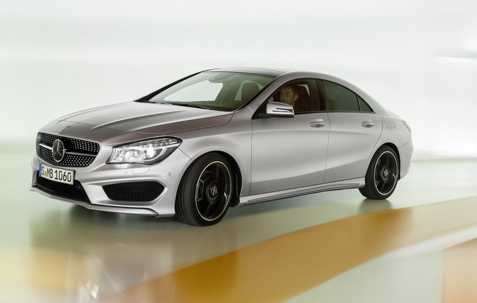 Mercedes CLA 2013 - In motion
