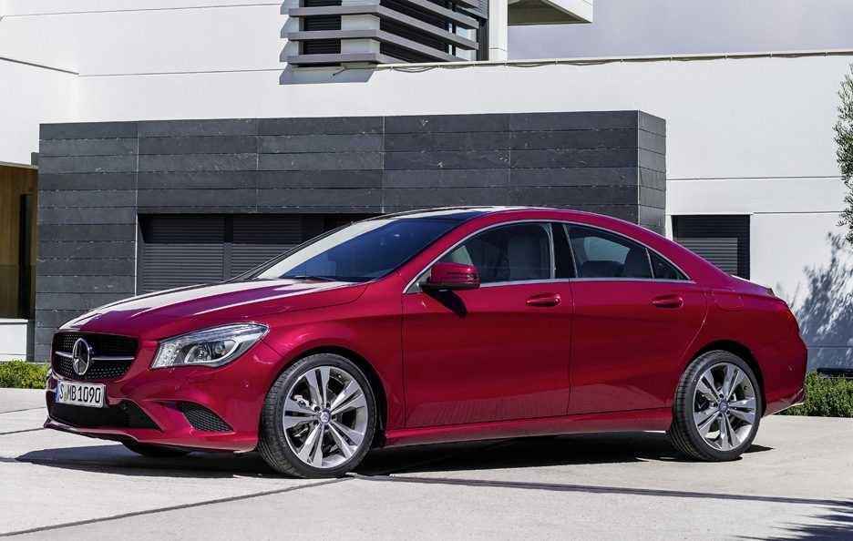 Mercedes CLA 2013 - Linee red