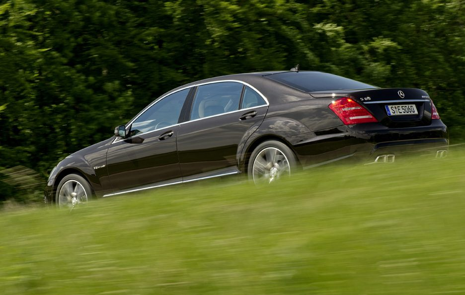 Mercedes Classe S - Laterale in motion