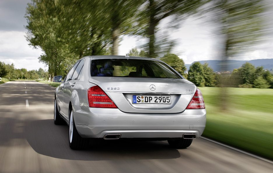 Mercedes Classe S - Posteriore in motion