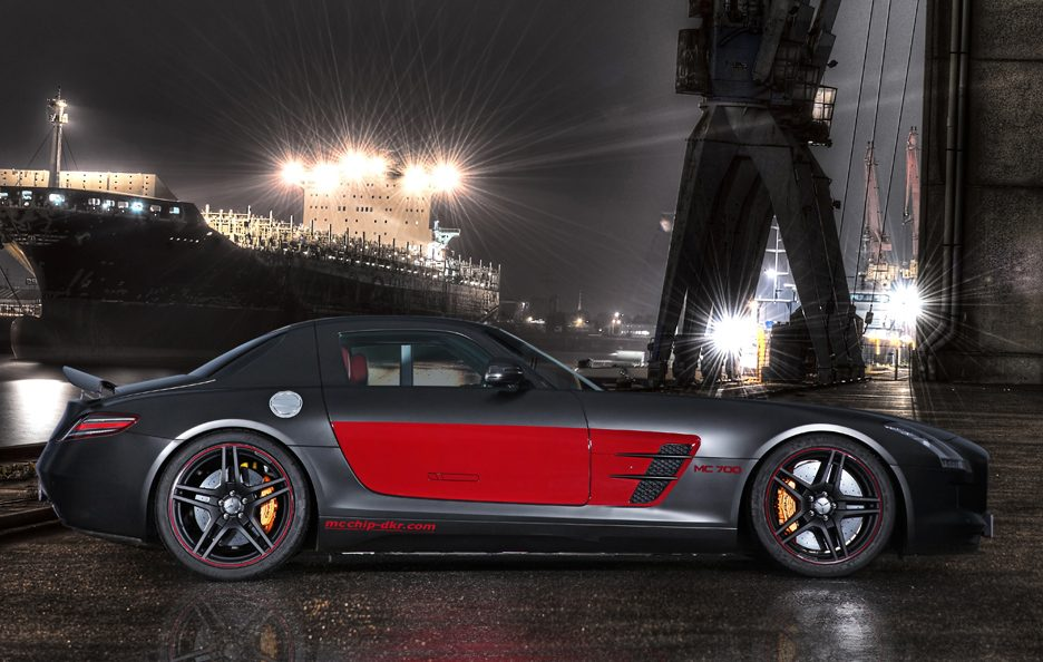 Mercedes SLS AMG MC700 by MCCHIP-DKR - Laterale