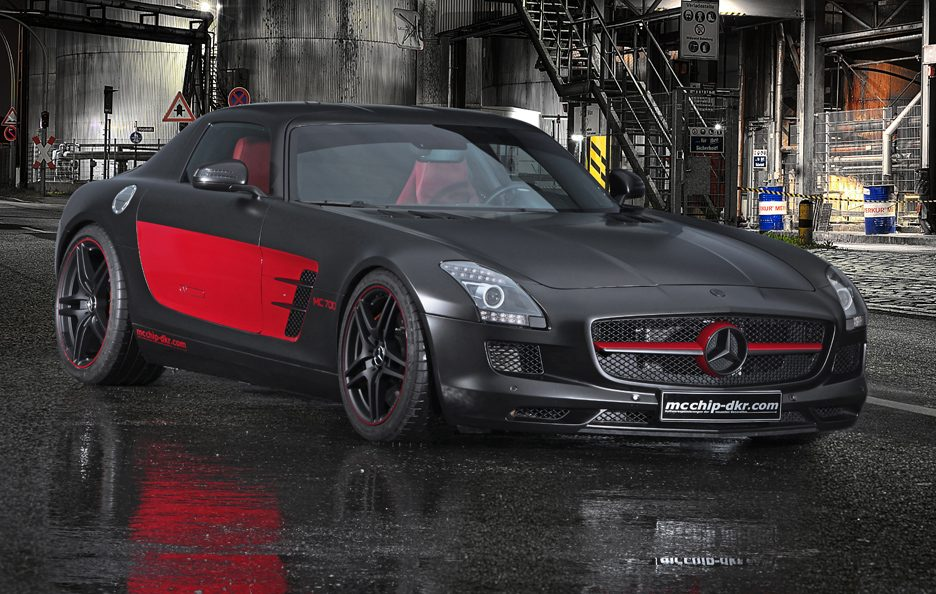 Mercedes SLS AMG MC700 by MCCHIP-DKR - Linee