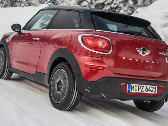 Mini Paceman All4: con trazione integrale