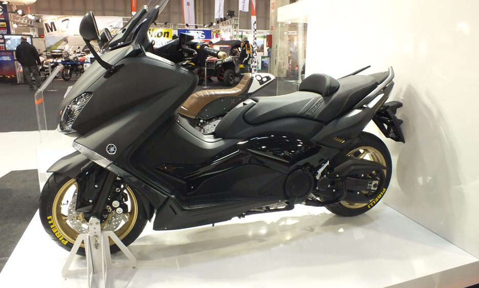 Motor BIke Expo 2013 - Yamaha TMAX BLACKMAX