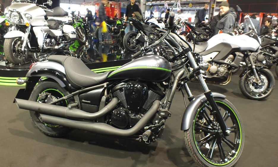 Motor Bike Expo 2013 - Kawasaki VN900 Custom