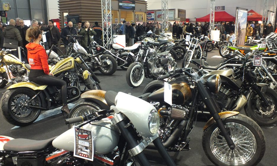 Motor Bike Expo 2013 - Le moto custom 17