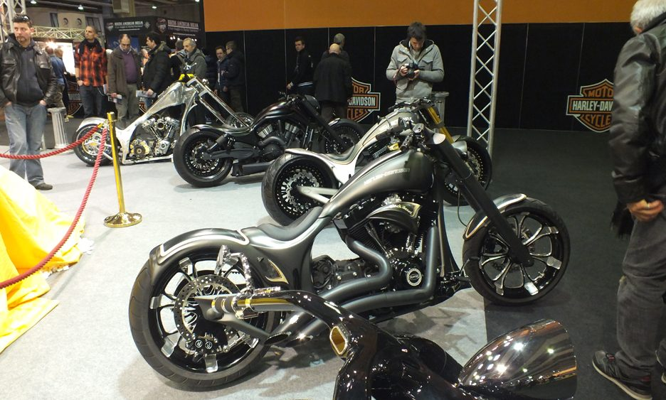Motor Bike Expo 2013 - Le moto custom 6