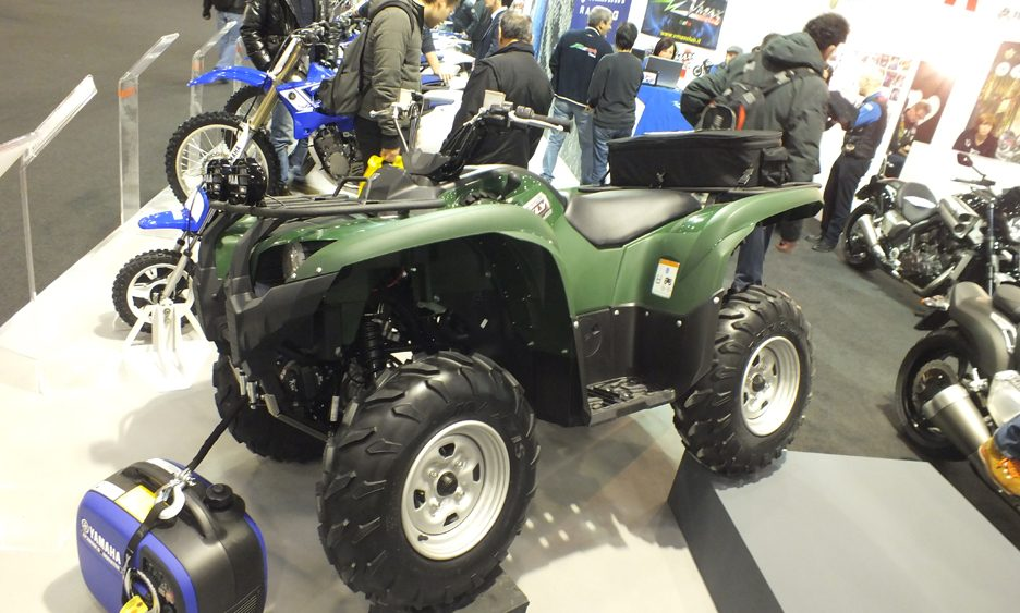 Motor Bike Expo 2013 - Yamaha Grizzly 700 EPS