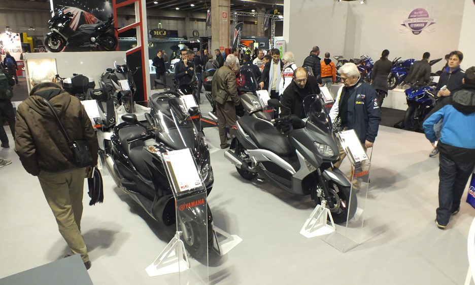 Motor Bike Expo 2013 - Yamaha scooter