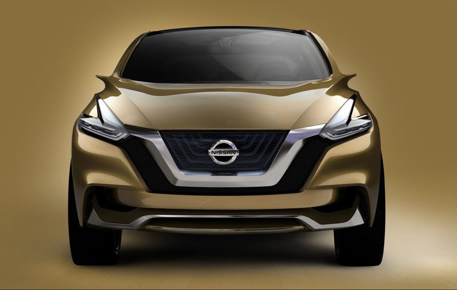 Nissan Resonance Concept - Frontale