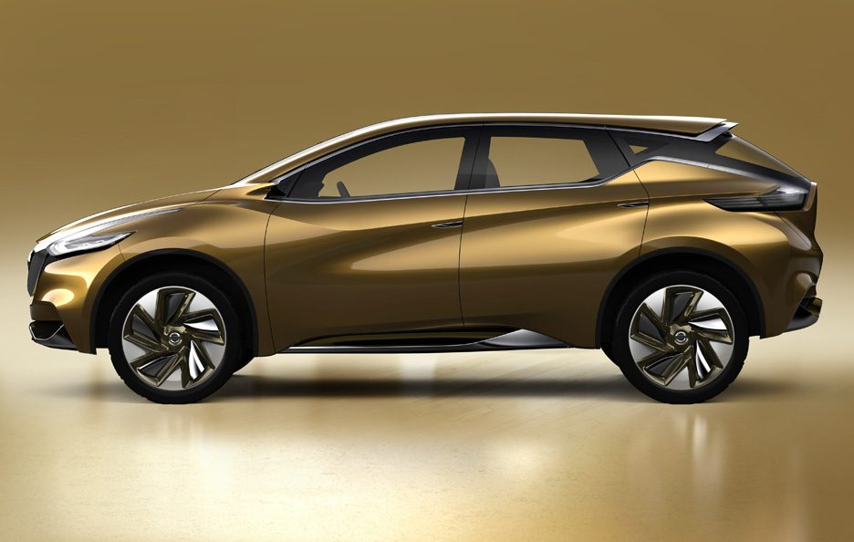 Nissan Resonance Concept - Laterale