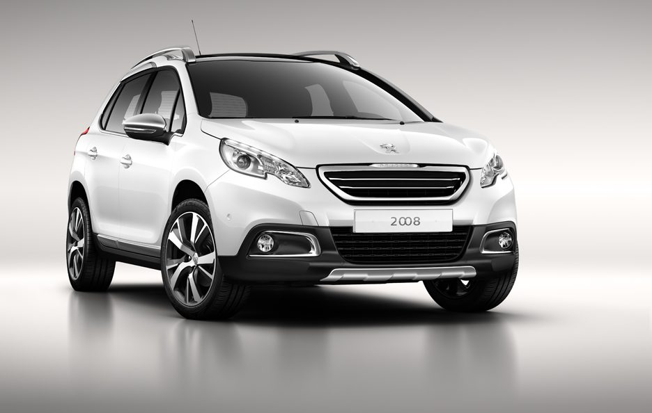 Peugeot 2008 - Frontale