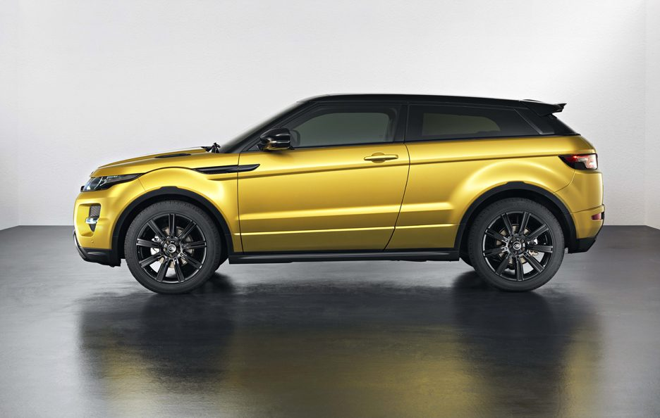 Range Rover Evoque Sicilian Yellow Limited - Laterale