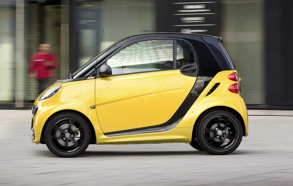 Smart ForTwo Cityflame - Profilo in motion