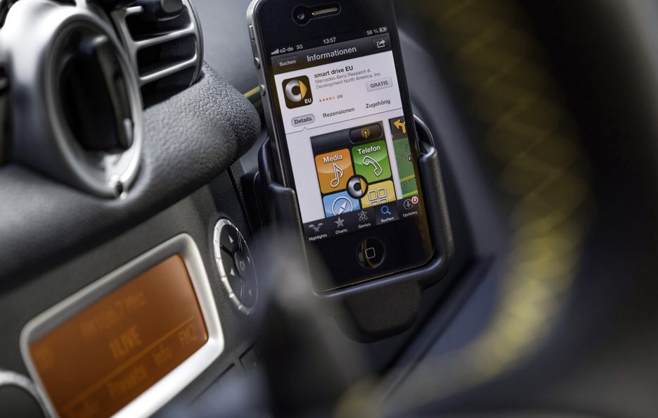 Smart ForTwo Cityflame - Smartphone connected