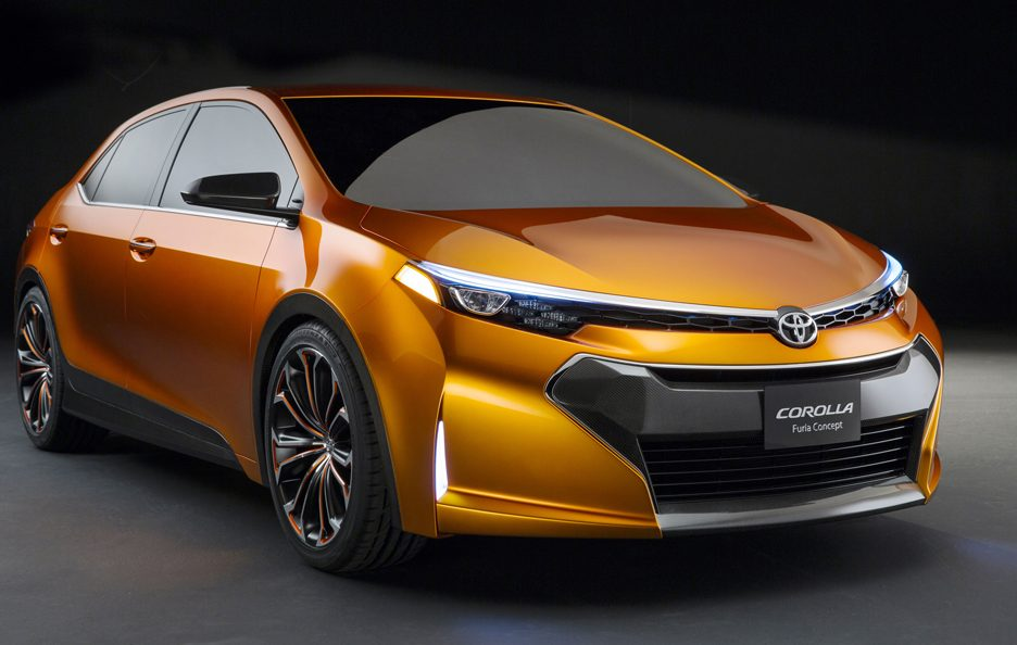 Toyota Furia Concept - Frontale