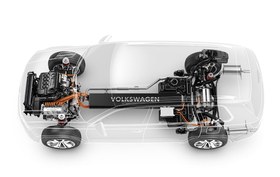 Volkswagen CrossBlue - Chassis