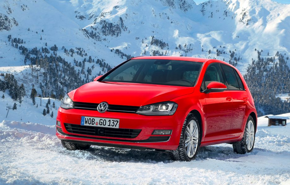 Volkswagen Golf 4Motion - Anteriore