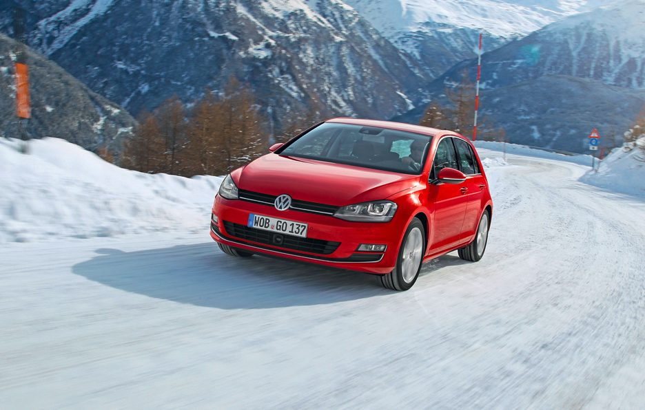 Volkswagen Golf 4Motion - Frontale