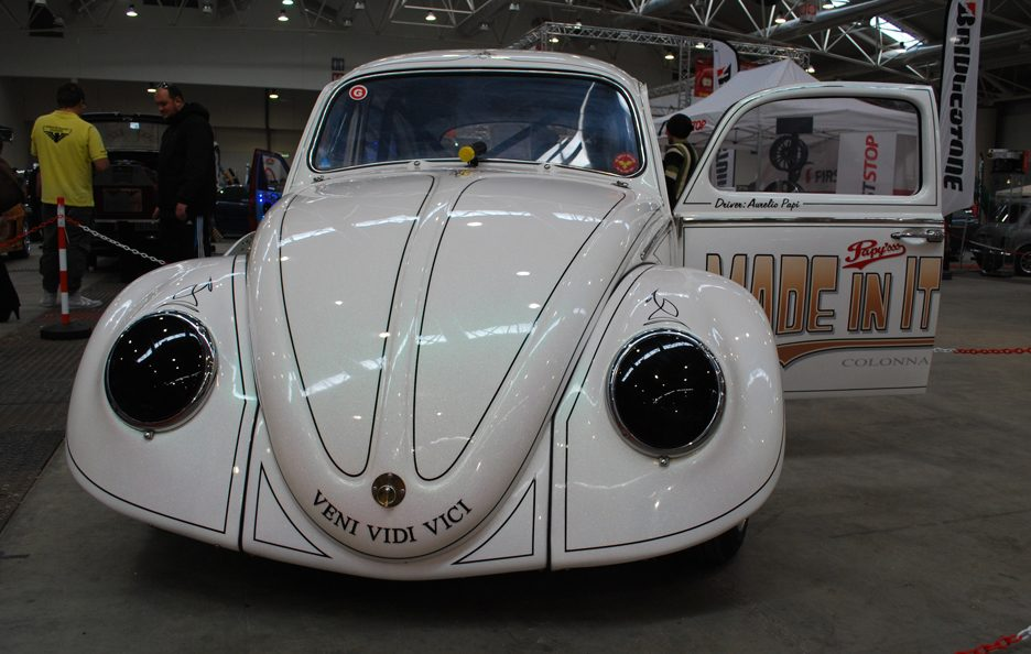Volkswagen Maggiolino 1963 Papy'sss Drag Racing - Frontale