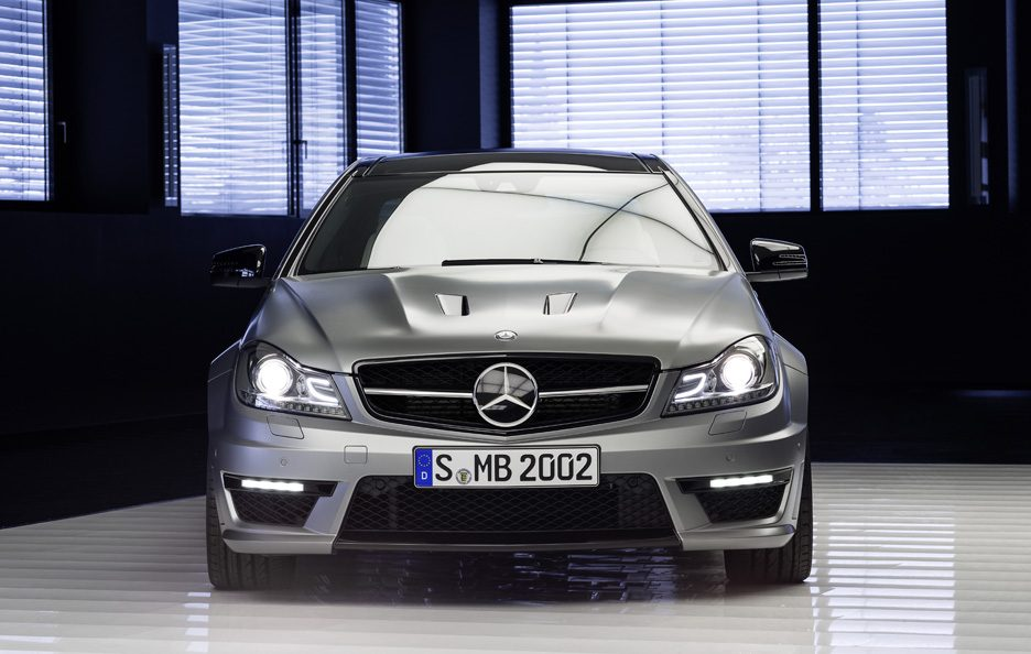Mercedes C63 AMG Edition 507  - Frontale