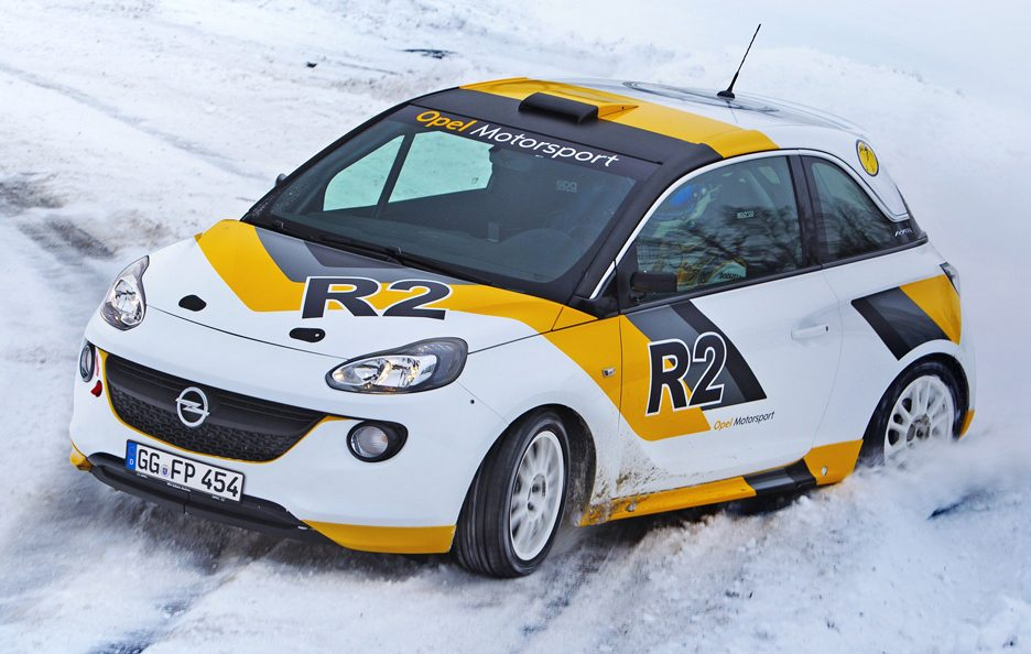 Opel Adam R2 - In curva
