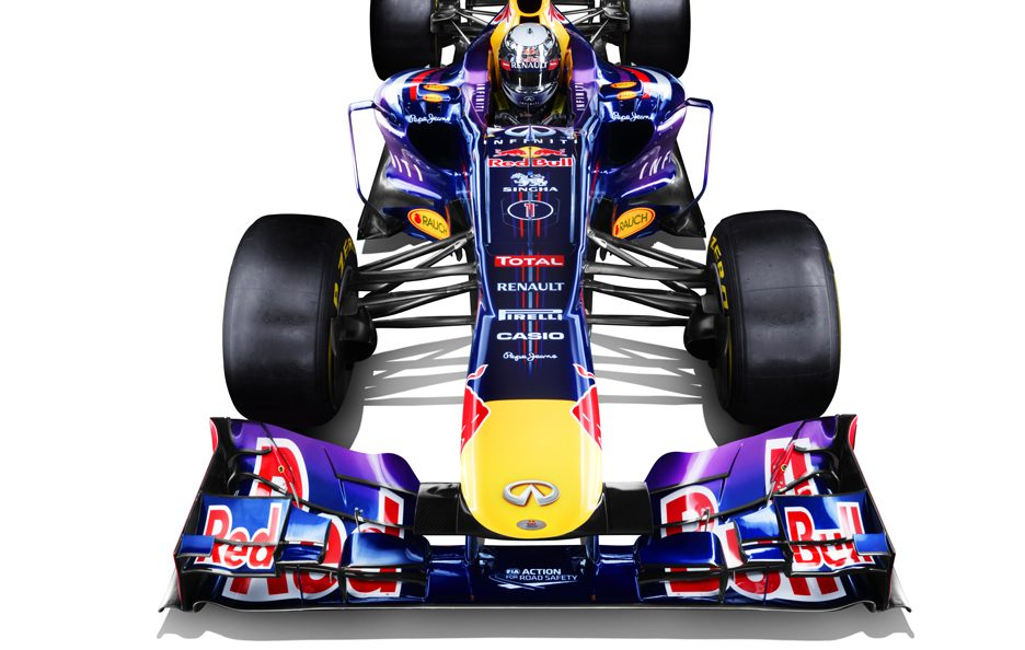 Red Bull RB9 frontale