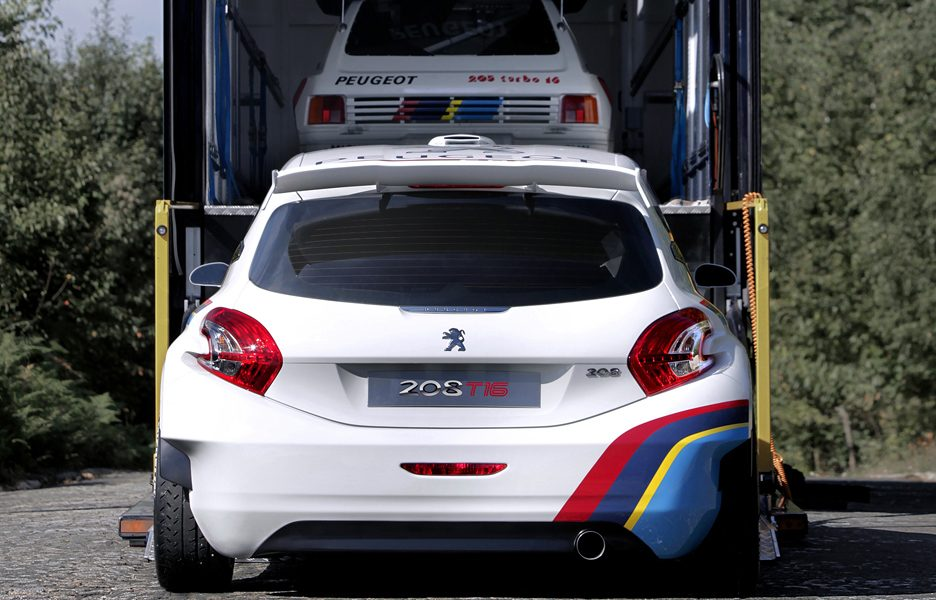 Peugeot 208 T16 - new & old