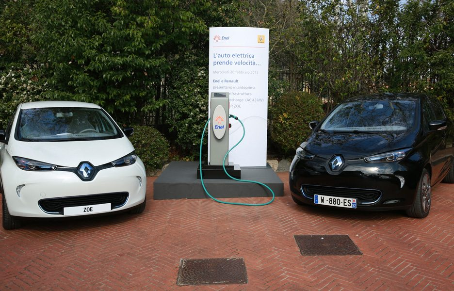Renault Enel - Fast Recharge