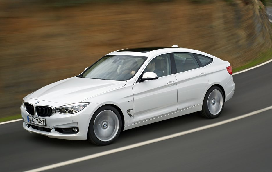 BMW Serie 3 Gran Turismo - In motion