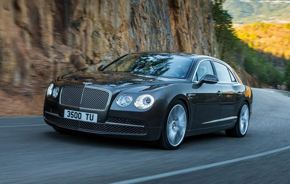 Bentley Flying Spur - In motion