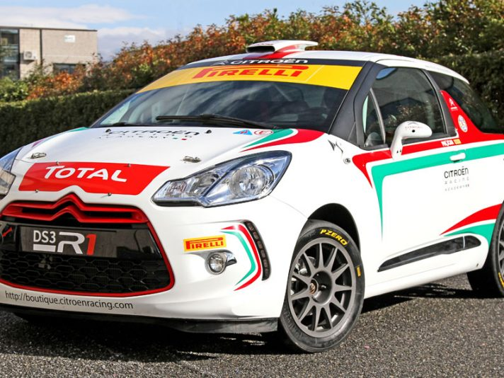 Rally Academy Citroën DS3 2013: il
