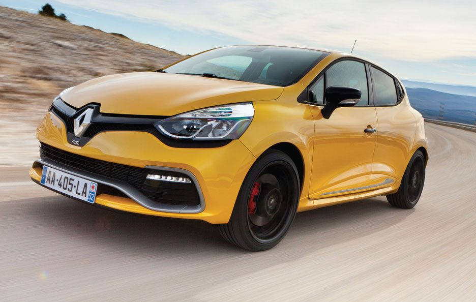 Clio RS 200 EDC - Frontale in motion