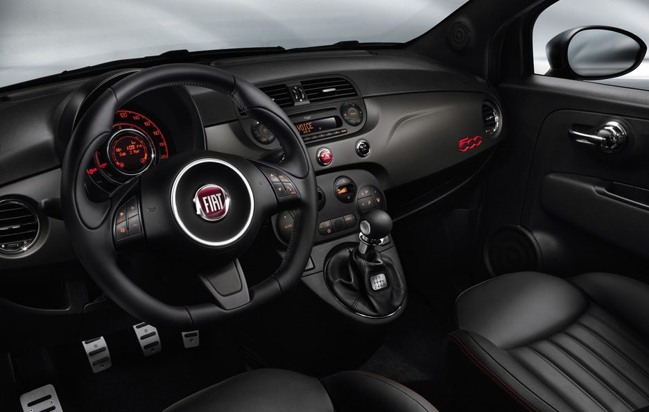 Fiat 500 GQ - Interni