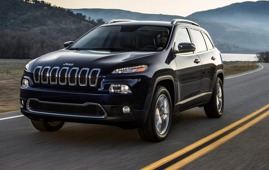 Jeep Cherokee 2014 - In motion