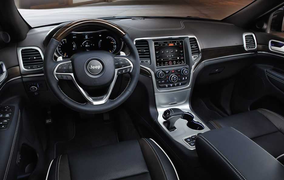 Jeep Grand Cherokee my 2014 - Interni